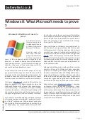 www.batteryfast.co.uk-Windows 8: What Microsoft needs to prove ?