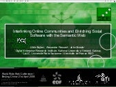 Interlinking Online Communities and...