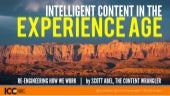 Intelligent Content in the Experience Age