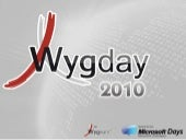 WygDay 2010 - Start Up : xbrainlab