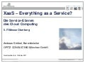 XaaS-Everything as a Service - IT-Messe Oberberg 2011 - OPITZ CONSULTING - Andreas Ströbel