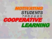 Cooperative Learning { Applied } by...