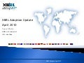 XBRL World Wide Adoption Survey April 2010