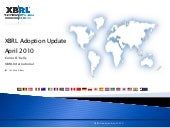XBRL World Wide Adoption Survey Apr...