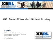 Xbrl The Future Of Financial And Bu...