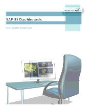 SAP BI Dashboards (Xcelsius) - Tuto...