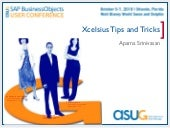 Xcelsius tips and tricks for your E...