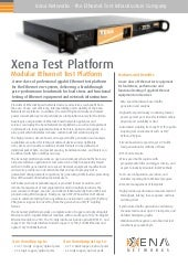 Xena Networks Solution