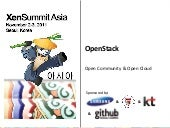OpenStack at Xen summit Asia