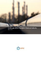 Landscape of the European Chemical ...