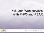 XML and Web Services with PHP5 and ...