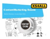 XS4ALL Contentstrategie consult sessie - TAKEOUT