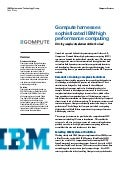 Gompute harnesses  sophisticated IBM high  performance computing