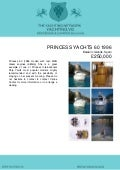 PRINCESS YACHTS 60, 1996, £250,000 For Sale Brochure. Presented By yachting.vg
