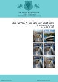 SEA RAY SEA RAY 220 Sun Sport, 2005, 31.000 € For Sale Brochure. Presented By yachting.vg