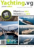 Yachting.vg Power Yachts Edition magazine February 2012 issue - Yacht Brokerage Yacht Charter in the BVIs