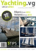Yachting.vg Sailboats Edition magazine February 2012 issue - Yacht Brokerage Yacht Charter in the BVIs