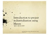 Introduction to project industriali...