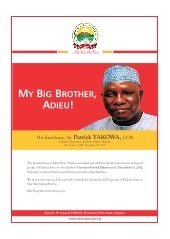 My Big Brother, Adieu