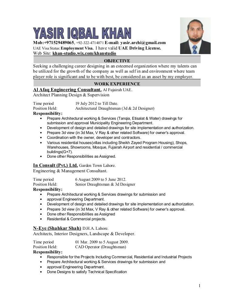 responsibility resume