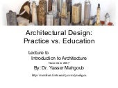 Introduction to Architecture - مقدم...