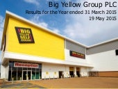 Big Yellow Group Plc video