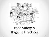Year 9 & 10 - First Principles of Food Preparation & Cooking - Food Safety & Hygiene Practices