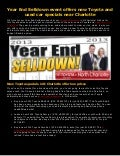 Year End Selldown event offers new Toyota and used car specials near Charlotte!
