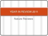 Year in review 2011-Nature reviews