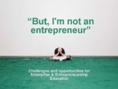 But I'm not an entrepreneur!