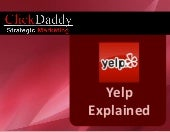 Yelp Explained By ClickDaddy