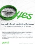 Yesmail Email Marketing Compass | Q4 2014 Recap: The Season of Mobile