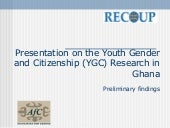 Presentation on the Youth Gender an...