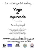 Yoga Ayurveda Workshop for Yoga Studios