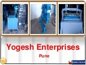 Hydraulic Machine Manufacturer In Pune - Yogesh Enterprises
