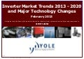 Inverter market trends 2013 Report by Yole Developpement