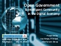 Open Government & Intelligent Community in the Digital Economy