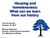 Housing and Homelessness: What We C...