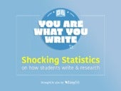 Shocking Statistics on How Students Write & Research