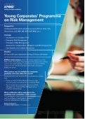 Young Corporates' Programme on Risk Management