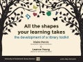 'All the shapes your learning takes': the development of a Library Welcome Toolkit - Leanne Young & Klaire Purvis