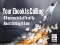 Your Ebook is Calling