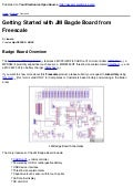 Getting Started With Jm Bagde Board From Freescale