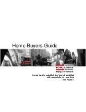 Your Home Buyers Guide