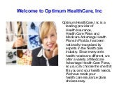 Florida health care insurance plans