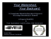 Your watershed your backyard