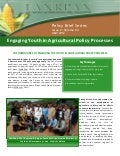 FANRPAN Policy Brief_Youth engagement in policy processes