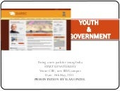 Youth & Government - Paving a new p...
