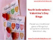 Youth Icebreakers: Valentine's Day ...