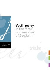 Youth policy in the 3 communities o...